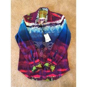Robert Graham Long Sleeve Limited Edition shirt !